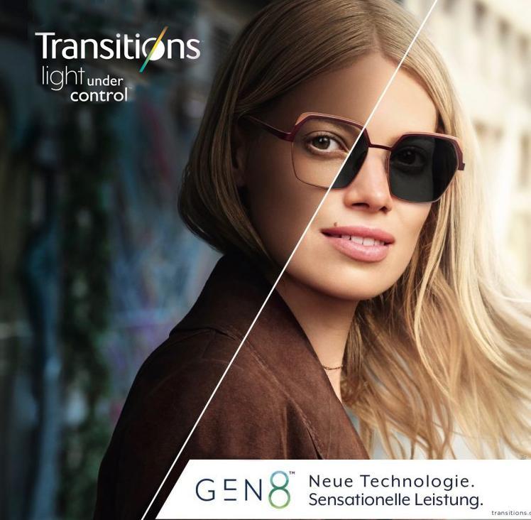 Dynamische Brillengläser GEN 8